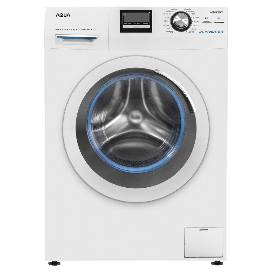 Máy giặt lồng ngang Aqua AQD - D901ZT 9kg
