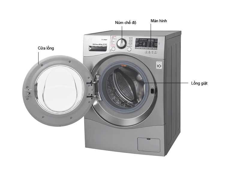 Máy giặt lồng ngang LG F1450SPRE - 10.5 kg