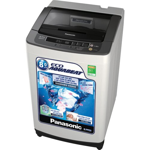 Máy giặt Panasonic NA-F80B5 (F80B5HRV) - Lồng đứng, 8 Kg