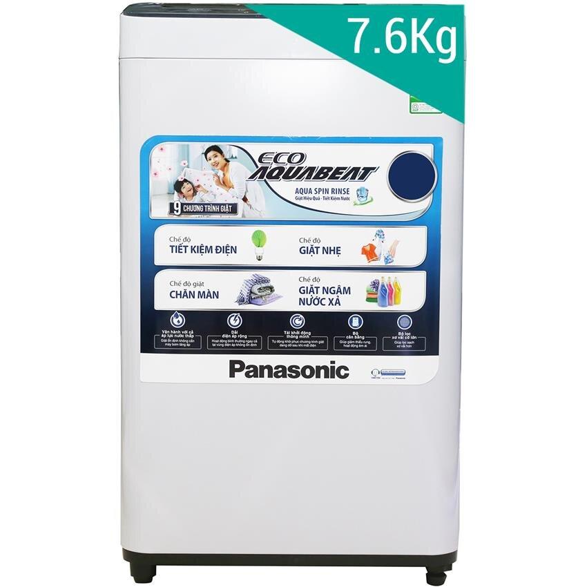 Máy giặt Panasonic NA-F76VB6HRV - Lồng đứng, 7.6 Kg