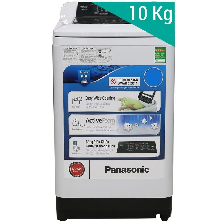 Máy giặt Panasonic NA-F100A1WRV - Lồng đứng, 10 Kg