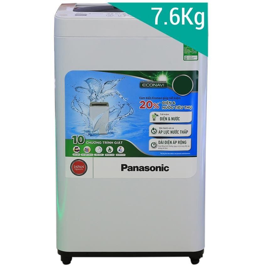 Máy giặt Panasonic NA-F76VG7WRV - Lồng đứng, 7.6 Kg
