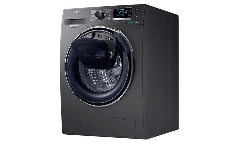 Máy giặt Samsung AddWash WW85K54E0UX/SV - Cửa trước, Inverter, 8.5 kg