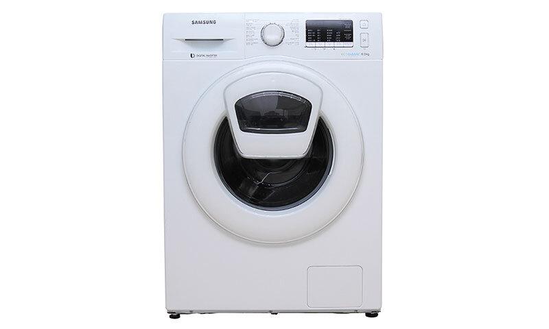 Máy giặt Samsung AddWash Inverter WW90K52E0WW/SV - 9 kg, Lồng ngang