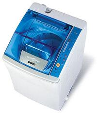Máy giặt Sanyo ASW-F700Z1T - Lồng nghiêng, 7 Kg, Màu S/N