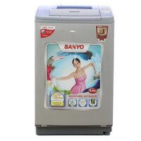 Máy giặt Sanyo ASW-U800Z1T (S/N) - Lồng nghiêng, 8 Kg