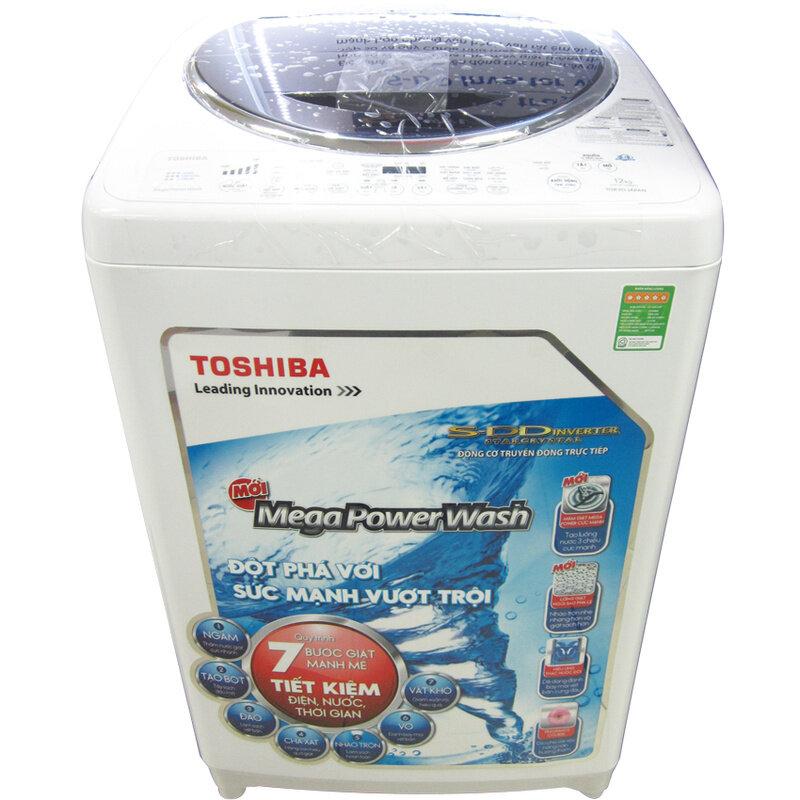 Máy giặt Toshiba AW-DC1300WV (W) - Lồng đứng, 12 Kg