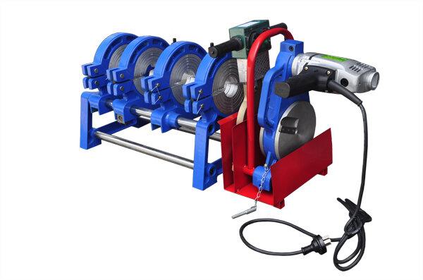 Máy hàn ống nhựa HDPE, PPR cơ tay quay 63-160