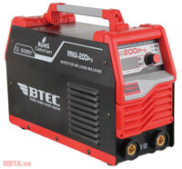 Máy hàn que điện tử Btec MMA-200 Pro - Inverter