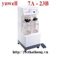 Máy hút dịch Yuwell 7A-23B - 2 bình