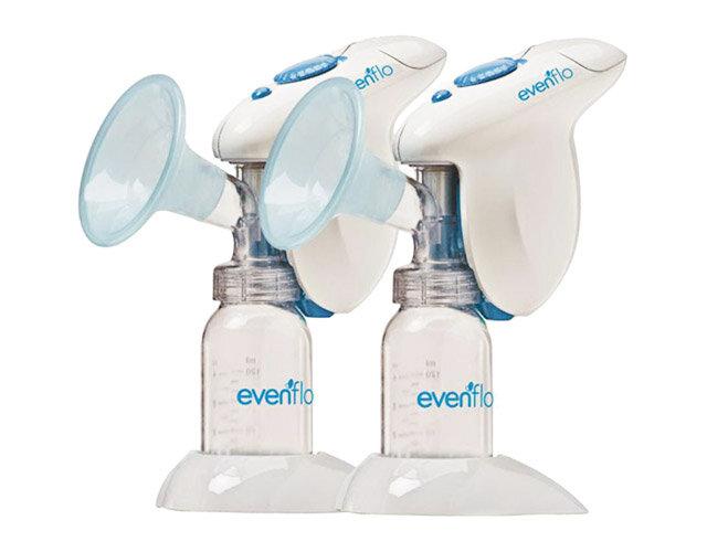 Máy hút sữa đơn dùng pin hoặc điện Evenflo
