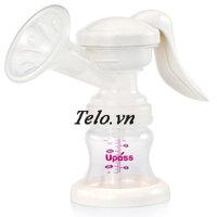 Máy hút sữa tay tiện lợi có mát xa silicon Upass UP1993