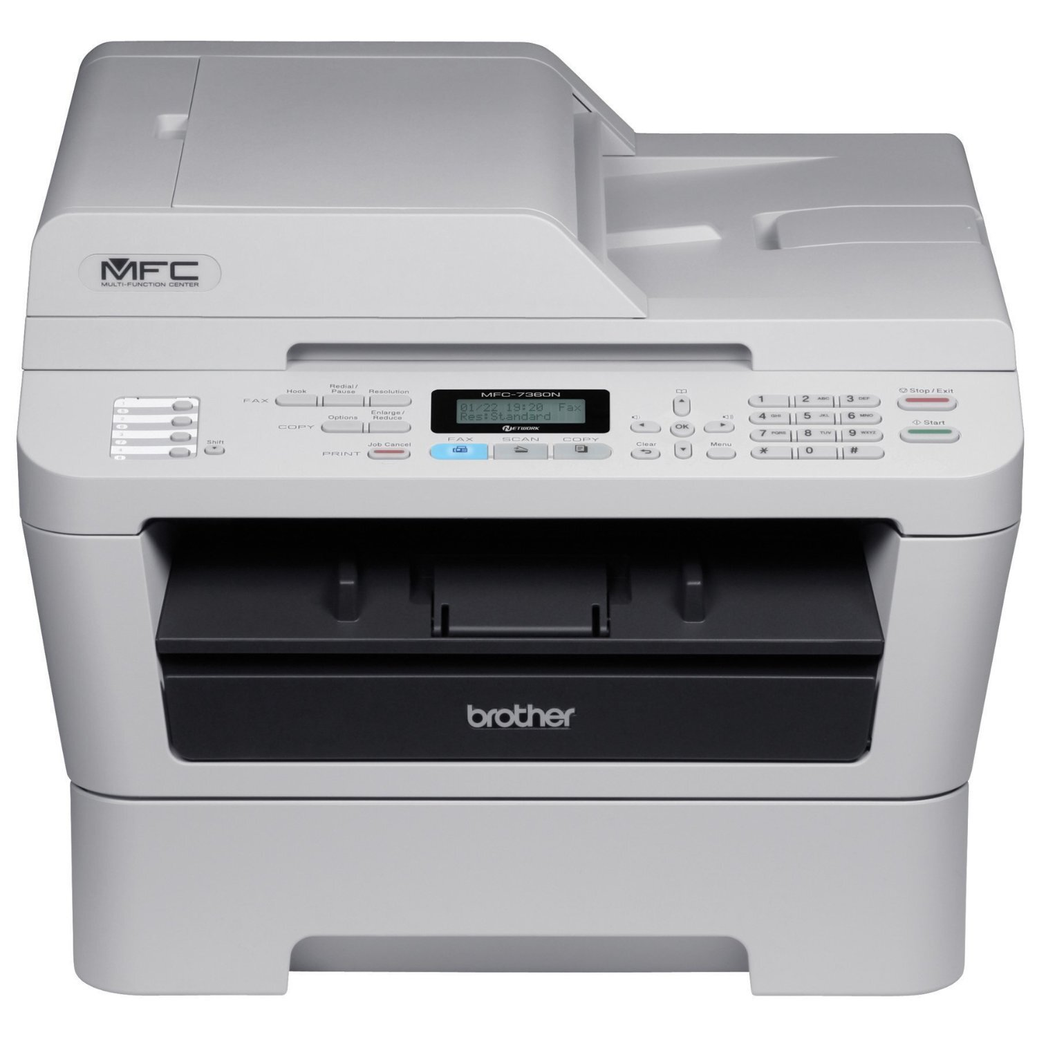 Máy in laser đen trắng đa năng (All-in-one) Brother MFC-7360 - A4