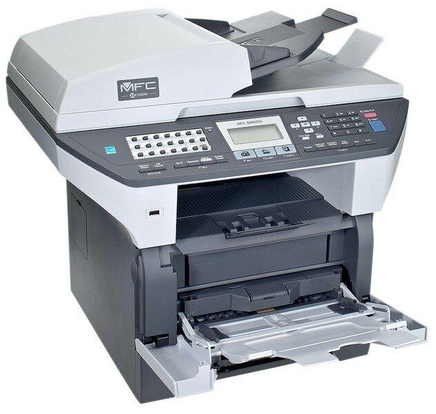 Máy in laser đen trắng đa năng Brother MFC-8880DN - A4
