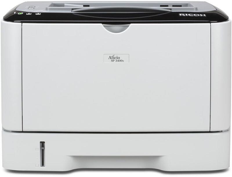 Máy in laser đen trắng Ricoh Aficio SP-3400N - A4