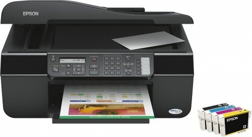 Máy in phun màu đa năng (All-in-one) Epson Stylus Office TX300F (TX-300F) - A4