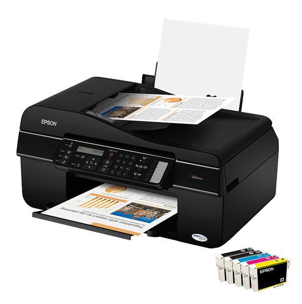 Máy in phun màu đa năng (All-in-one) Epson Stylus Office TX510FN - A4