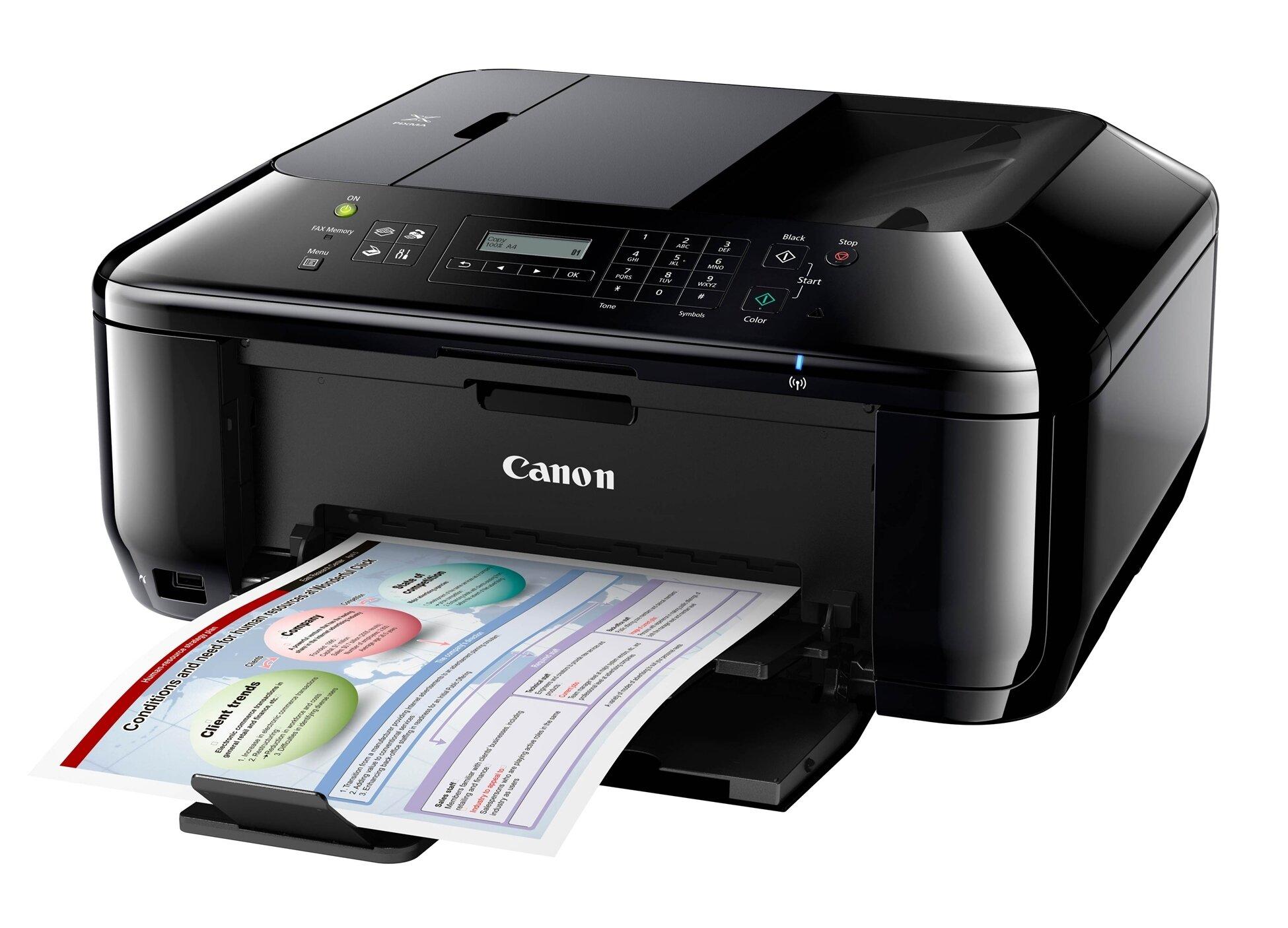 Máy in phun màu đa năng (All-in-one) Canon MX437 (MX-437) - A4