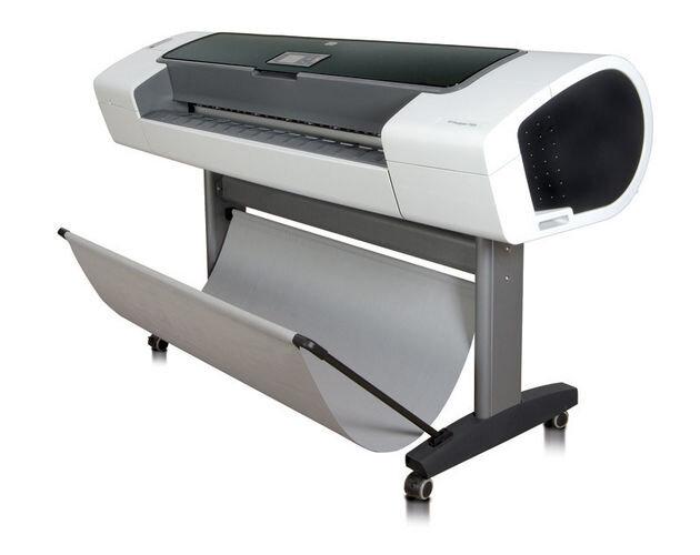 Máy in phun màu khổ lớn HP Designjet T1100 (T1100PS) - 24inch