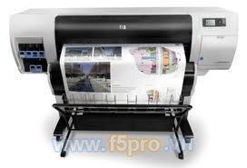 Máy in phun nhiệt HP Designjet T7100