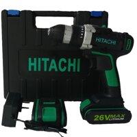 máy khoan pin HITACHI-26V