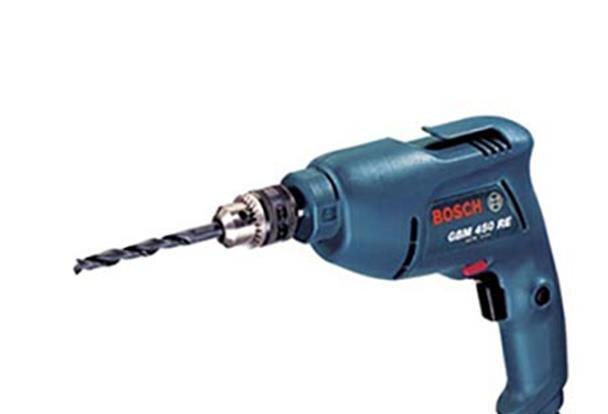 Máy khoan sắt Bosch GBM-450RE (GBM-450-RE) - 450W
