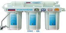 Máy lọc nước Hanico HNC-66 - 4 lõi, không tủ