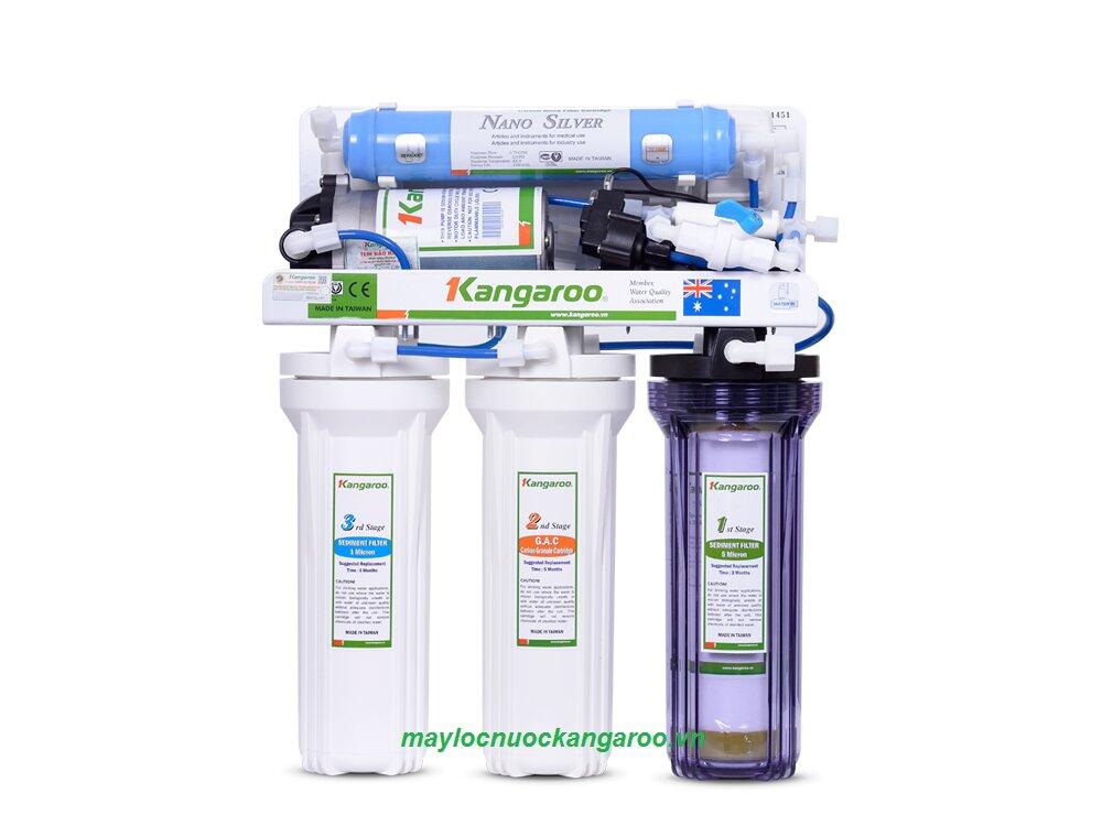 Máy lọc nước Kangaroo 6 lõi lọc KG102UV