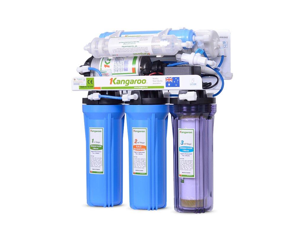 Máy lọc nước Kangaroo KG103KV - 6 lõi, không vỏ tủ