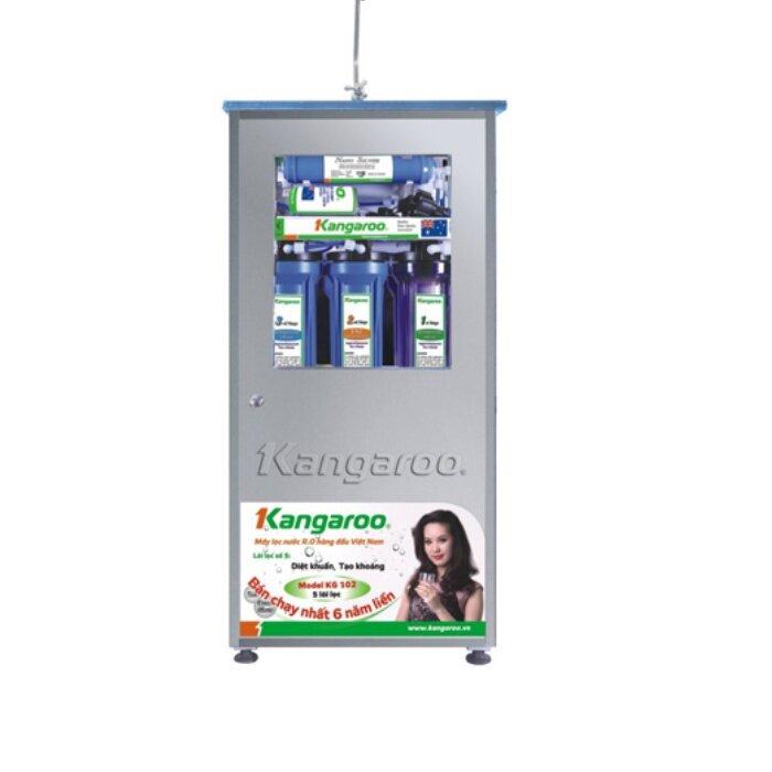 Máy lọc nước Kangaroo KG109KNT - 9 lõi, Vỏ INOX không nhiễm từ