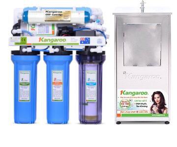 Máy lọc nước Kangaroo KG113KNT - 6 lõi, Vỏ INOX không nhiễm từ