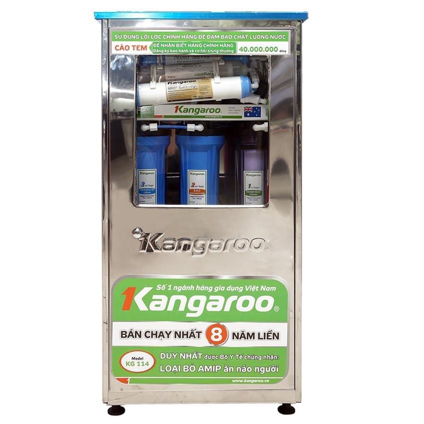 Máy lọc nước Kangaroo KG114 (KG-114NT) - 7 lõi, vỏ nhiễm từ