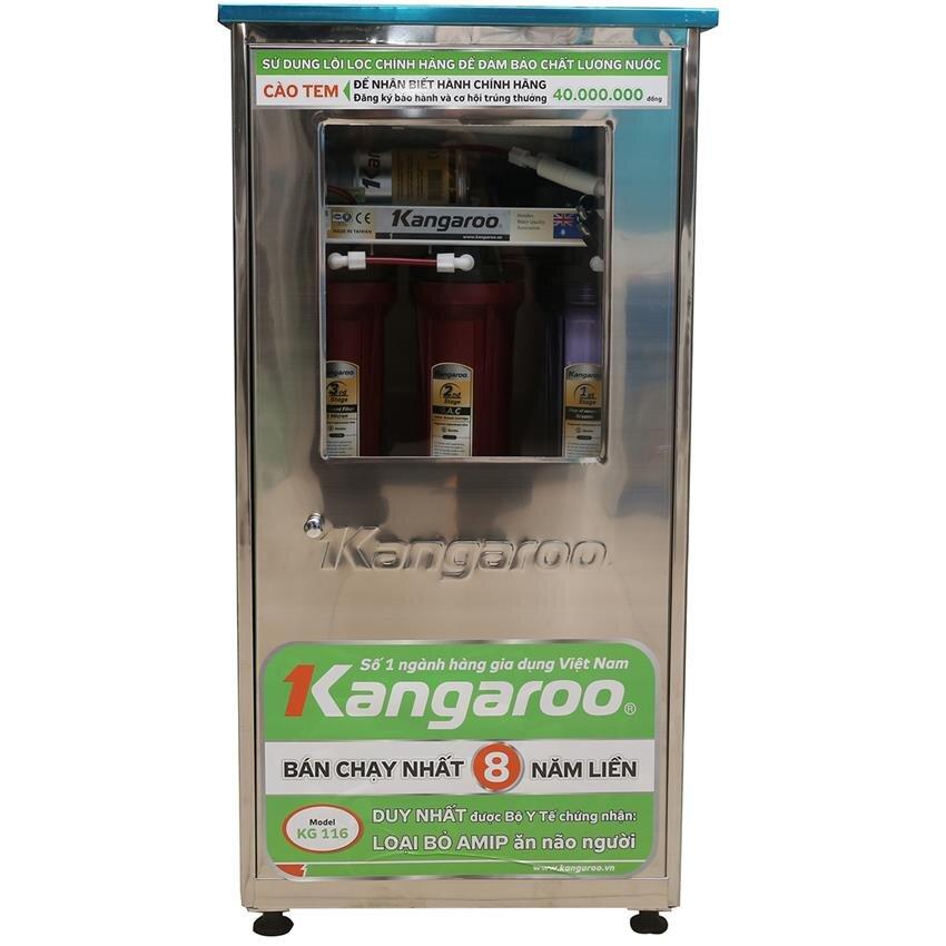 Máy lọc nước Kangaroo KG116 (KG-116KV) - 6 lõi, không vỏ