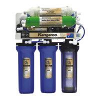 Máy lọc nước RO Kangaroo KG108AKV 8 lõi không vỏ tủ