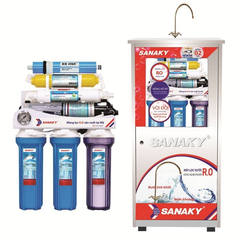 Máy lọc nước RO Sanaky SNK 207
