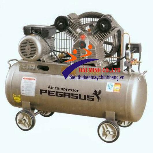 Máy nén khí dây đai Pegasus TM-V-0.25/12.5-100L