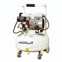 Máy nén khí không dầu, giảm âm 3/4HP-50L