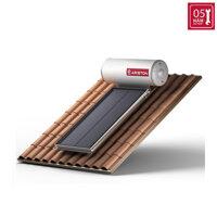 Máy nước nóng năng lượng mặt trời Ariston tấm phẳng đơn 200L mái nghiêng