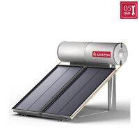 Máy nước nóng năng lượng mặt trời Ariston tấm phẳng đơn 200L mái bằng