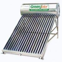 Máy nước nóng năng lượng mặt trời GREEN SOLAR 160L (Ø58)