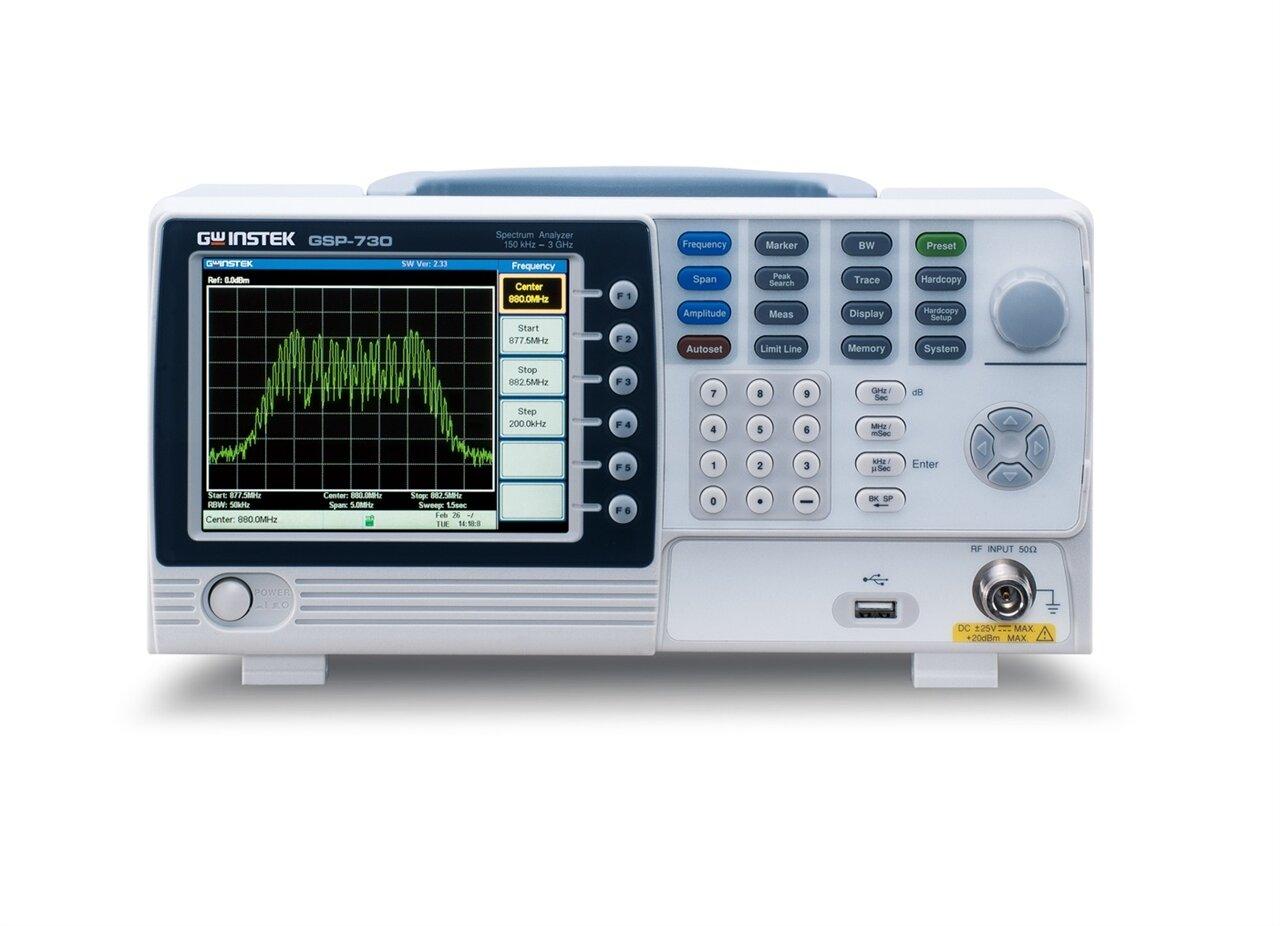 Máy phân tích phổ GW Instek GSP-730