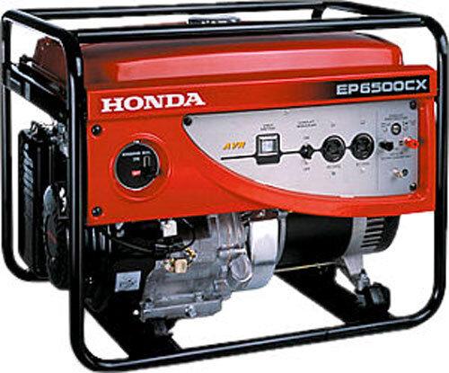Máy phát điện Honda EP6500CX - 5.5 KVA, giật nổ