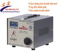 Máy sạc ắc quy tăng giảm Robot 10A (6V-12V)