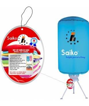 Máy sấy quần áo Saiko đa năng có đèn diệt khuẩn (CD-1200UV) -10kg, 1200W