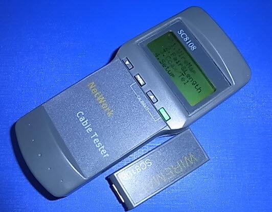 Máy test cáp mạng cao cấp SC8108