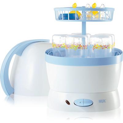 Máy tiệt trùng bình sữa Nuk 251010 – 5 bình