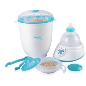 Máy tiệt trùng bình sữa và hâm sữa KJ06N
