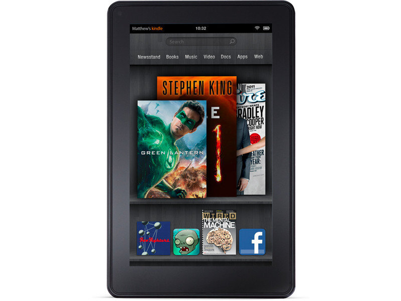 Máy tính bảng Amazon Kindle Fire (2012) - 8GB, Wifi, 7.0 inch