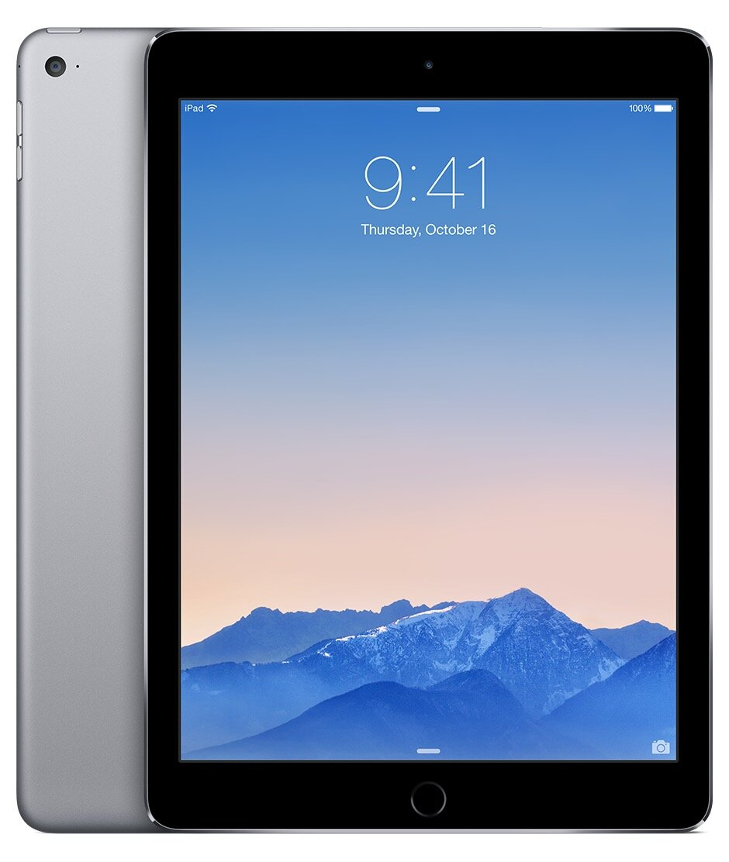 Máy tính bảng Apple iPad Air 2 Cellular - 128GB, Wifi + 3G/ 4G, 9.7 inch