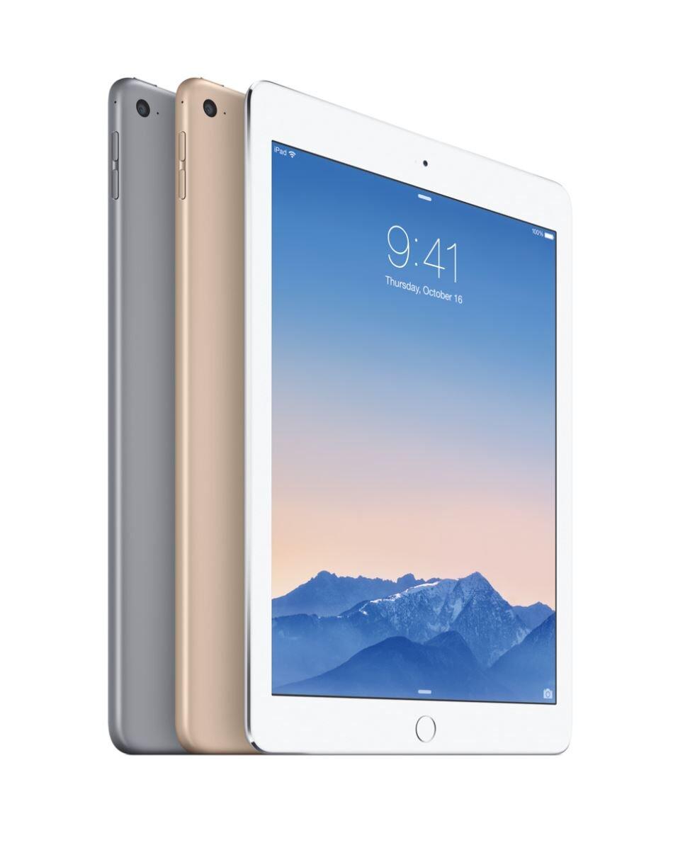Máy tính bảng Apple iPad Air 2 Cellular - Hàng cũ - 16GB, Wifi + 3G/ 4G, 9.7 inch